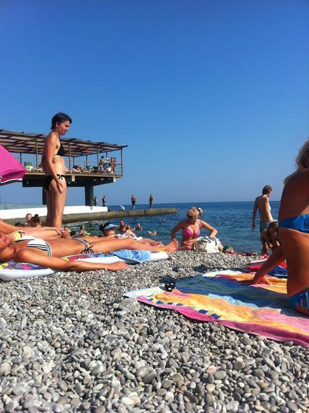Пляж в понизовке фото
